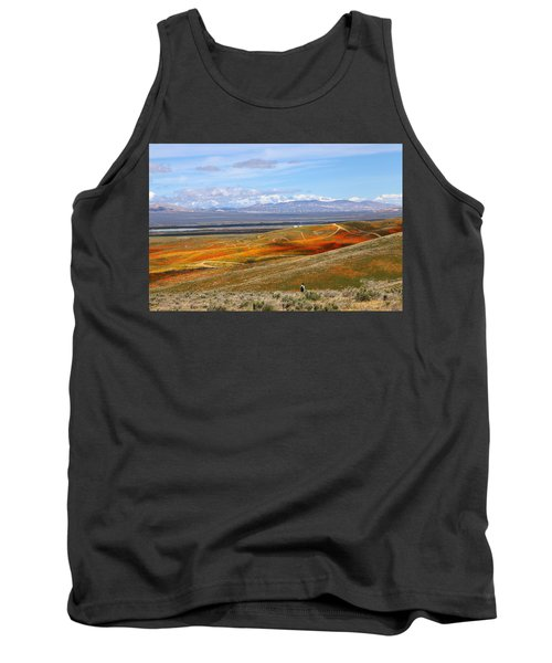 Tank Top featuring the photograph California Poppy Reserve by Viktor Savchenko