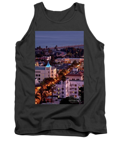 Tank Top featuring the photograph California Street At Ventura California by John A Rodriguez