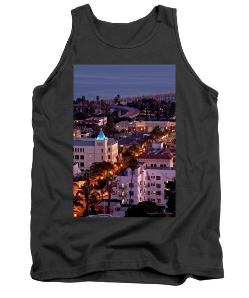 California Street At Ventura California Tank Top