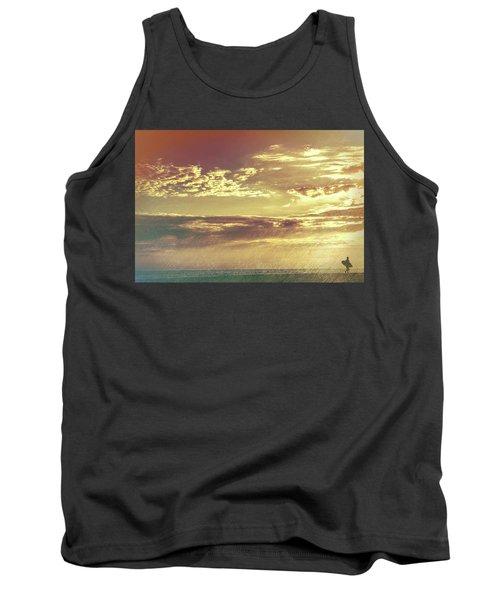 California Sunset Surfer Tank Top