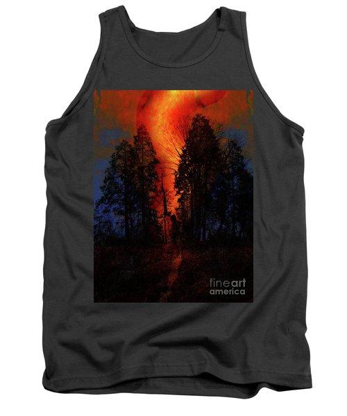California Wildfire Tank Top