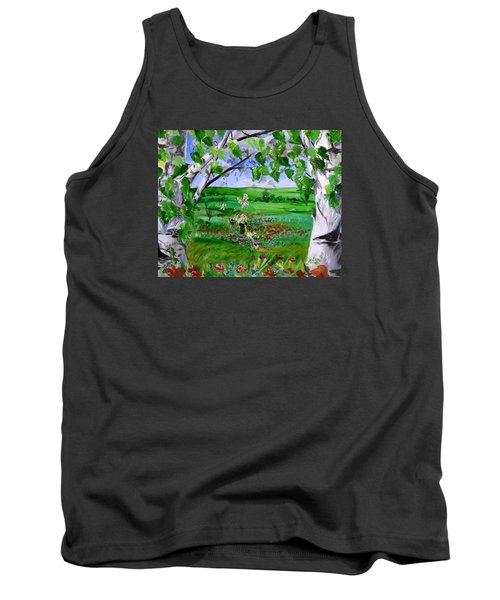 Call Of The Homeland Tank Top