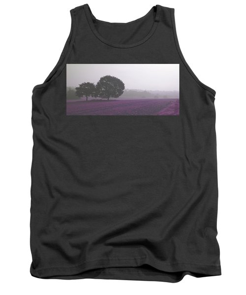 Calm Autumn Mist Tank Top