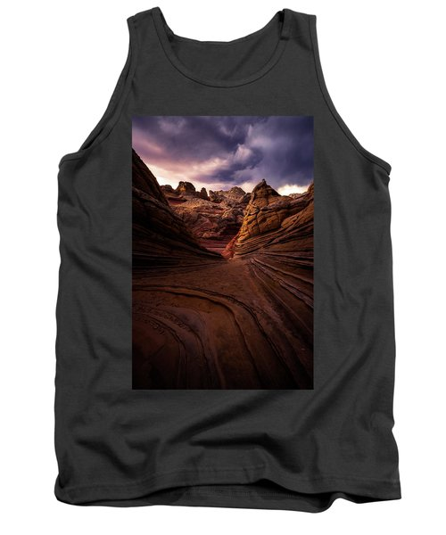 Calm Before The Storm Tank Top by Bjorn Burton