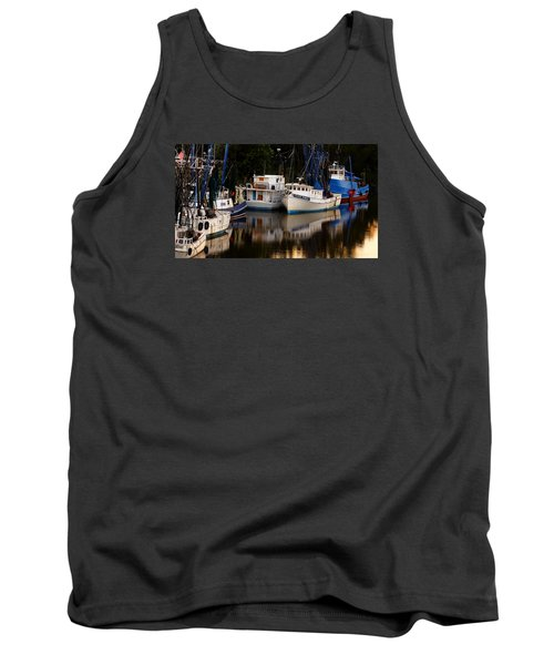 Tank Top featuring the photograph Calm Waters by Laura Ragland