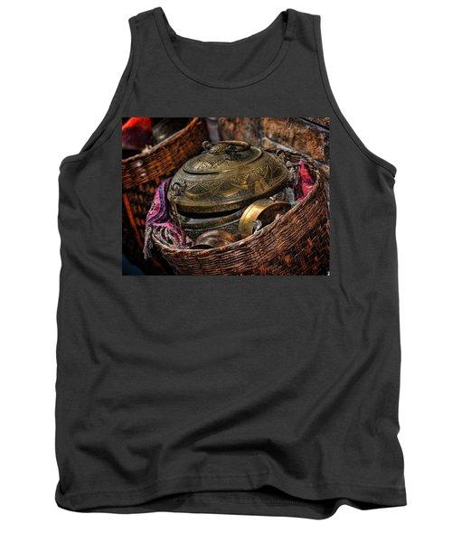 Camelback 8850 Tank Top by Sylvia Thornton