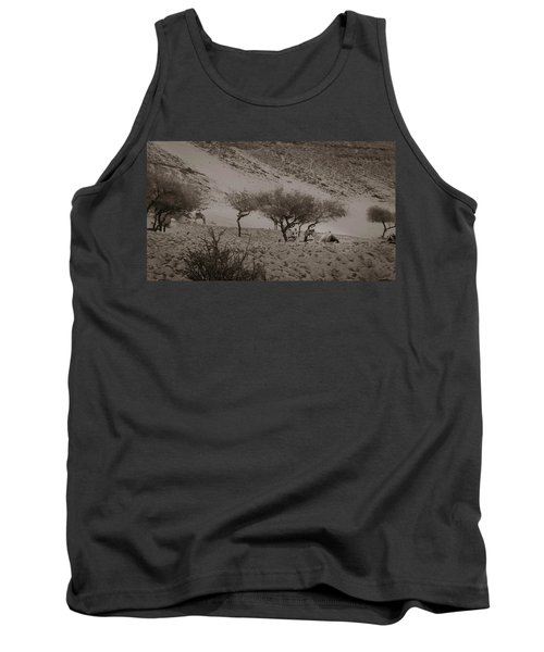 Camels Tank Top by Silvia Bruno