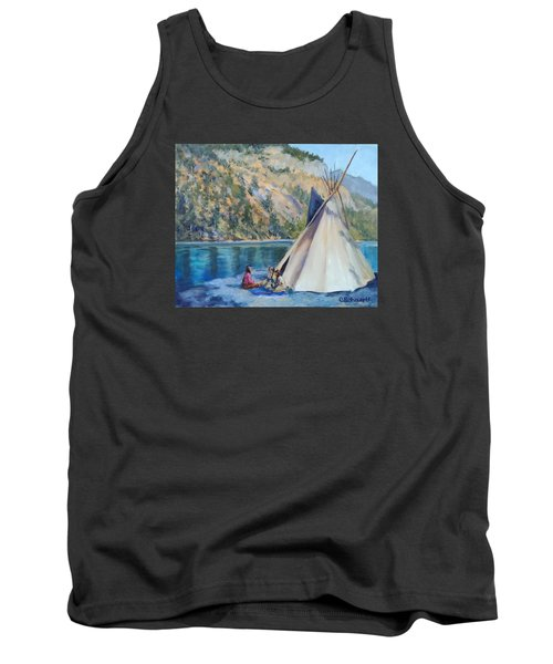 Camp By The Lake Tank Top