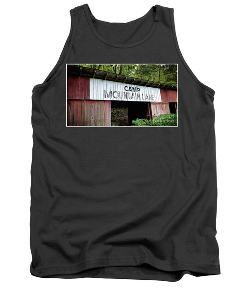 Camp Mountain Lake Horse Stables - Vintage America Tank Top