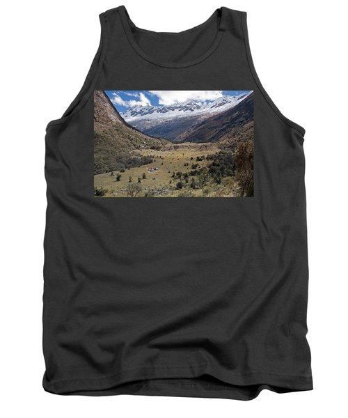 Camping In Huaripampa Valley Tank Top