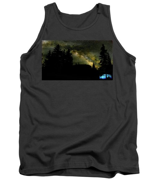 Camping Under The Milky Way 2 Tank Top