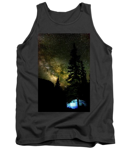 Camping Under The Milky Way Tank Top