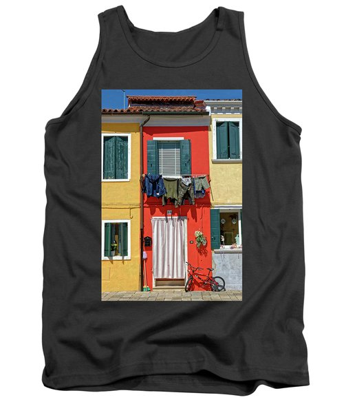 Can I Leave The Bike Outside? Tank Top