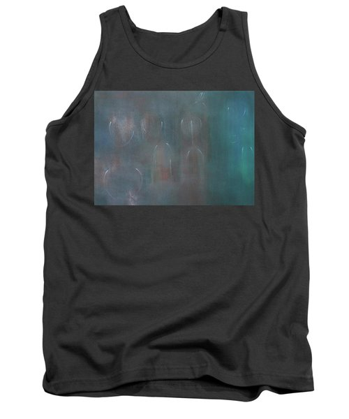 Can You Hear The News Of Tomorrow? Tank Top by Min Zou