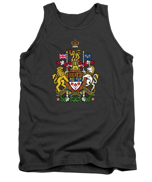 Canada Coat Of Arms Tank Top
