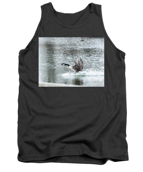Canada Goose Landing 2 Tank Top by Edward Peterson