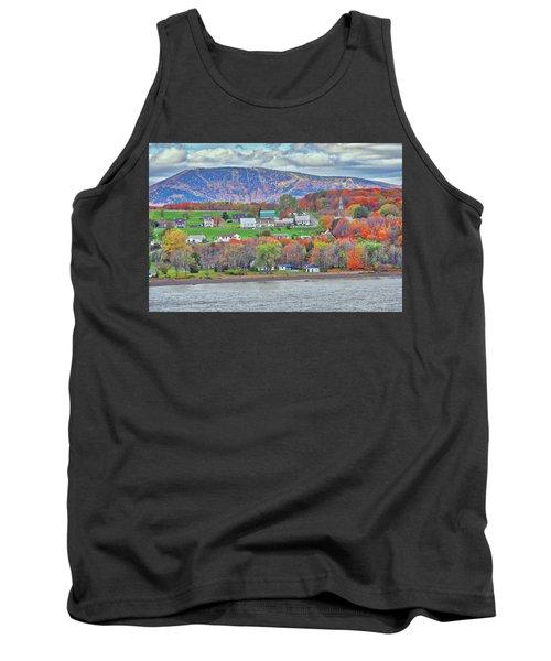 Canadian Fall Foliage Tank Top