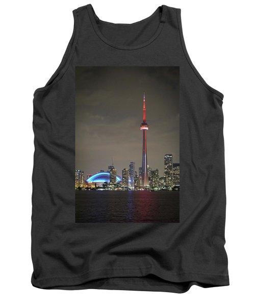 Toronto Skyline Tank Top