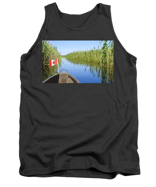 Tank Top featuring the photograph Canadians In Africa by Betty-Anne McDonald