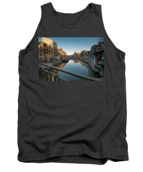 Canal From The Bridge Tank Top