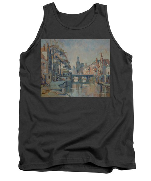 Canal In Utrecht Tank Top