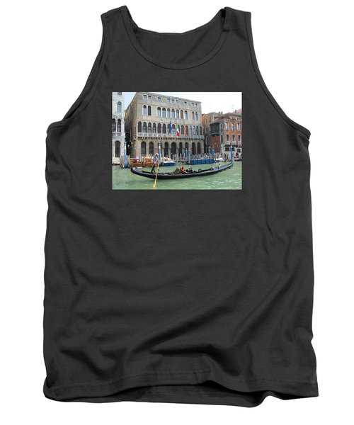 Canal Of Venise Tank Top by Lisa Boyd