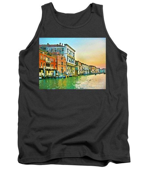 Canal Sunset - Venice Tank Top