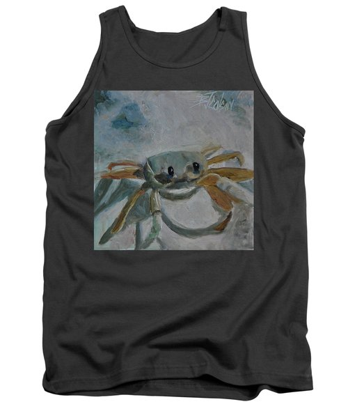 Cancer's Are Not Crabby Tank Top by Billie Colson