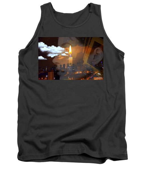 Candle Flame Tank Top by Paulo Zerbato