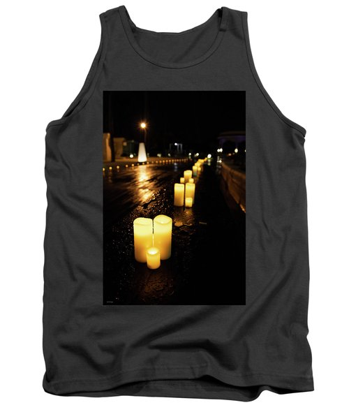 Candles On The Beach Tank Top