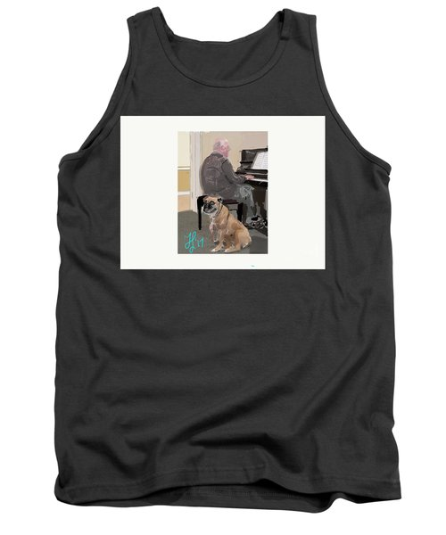 Canine Composition Tank Top