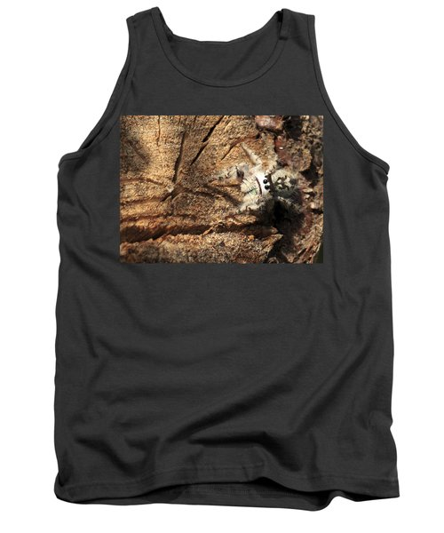 Canopy Jumping Spider Tank Top