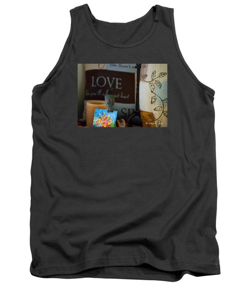 Canto De Amor... Tank Top by Edgar Torres