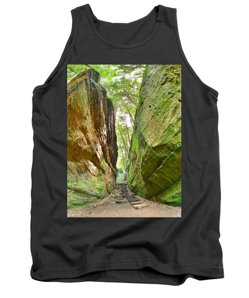 Cantwell Cliffs Trail Hocking Hills Ohio Tank Top