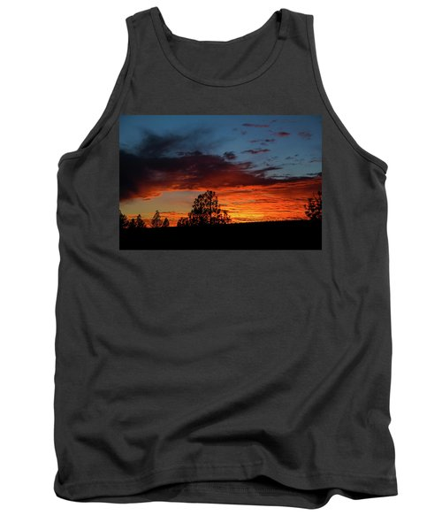 Canvas For A Setting Sun Tank Top