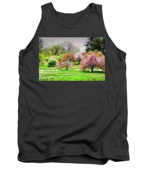 Tank Top featuring the photograph Garden Canvas  by Diana Angstadt