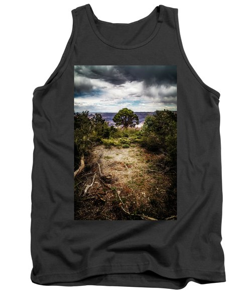 Tank Top featuring the photograph Canyon Sentinel by Jason Roberts