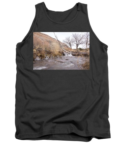 Canyon Stream Current Tank Top by Ricky Dean