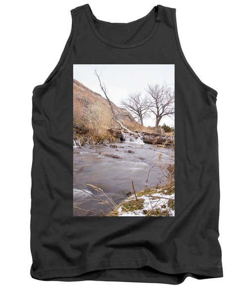 Canyon Stream Falls Tank Top by Ricky Dean