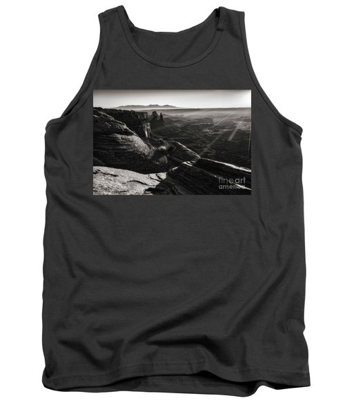 Tank Top featuring the photograph Canyon Sunbeams by Kristal Kraft