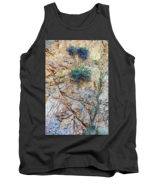Tank Top featuring the photograph Canyon Vegetation by James BO Insogna