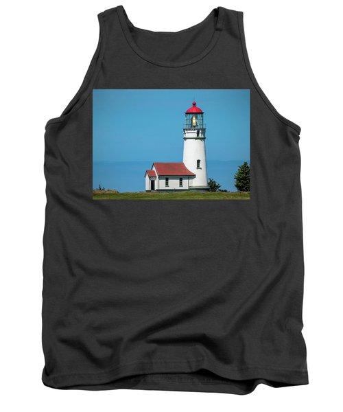 Cape Blanco Lighthouse At Cape Blanco, Oregon Tank Top