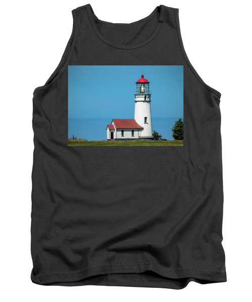 Cape Blanco Lighthouse At Cape Blanco, Oregon Tank Top
