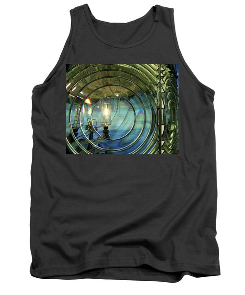 Cape Blanco Lighthouse Lens Tank Top