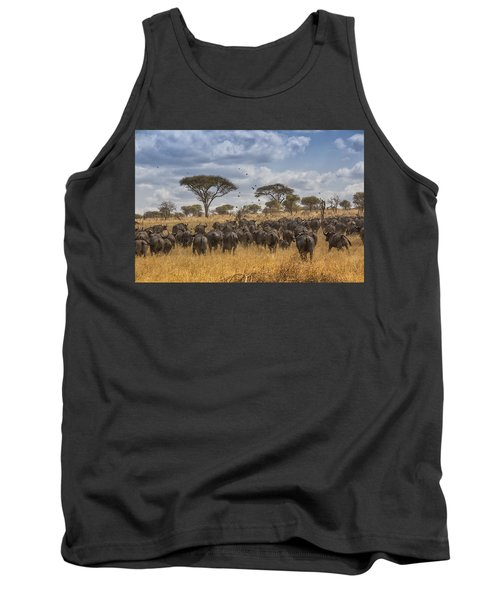 Cape Buffalo Herd Tank Top