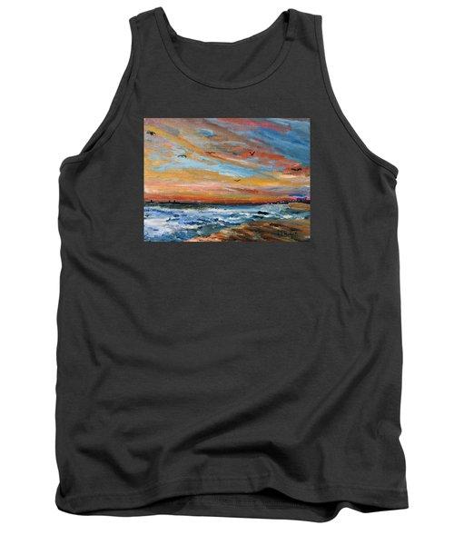 Cape Cod Sunrise Tank Top