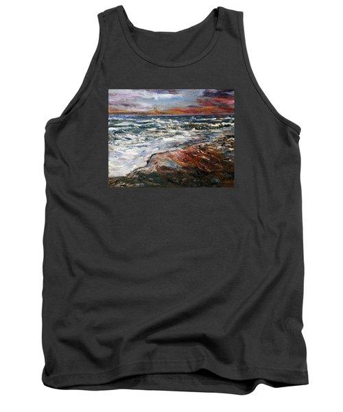Cape Cod Sunset 1 Tank Top
