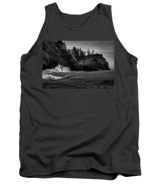 Cape Disappointment Lighthouse Tank Top