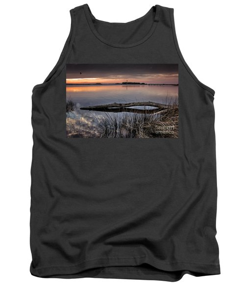 Cape Fear Sunset Serenity Tank Top by Phil Mancuso