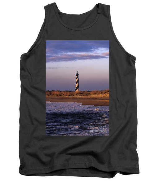 Cape Hatteras Lighthouse At Sunrise - Fs000606 Tank Top by Daniel Dempster